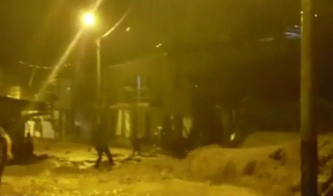 Piura: quebrada se desborda y ocasiona huaico en Ayabaca