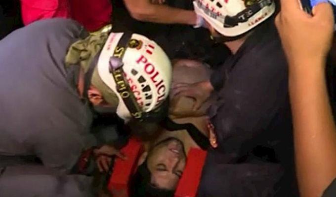 Joven rescatado en playa Marbella habría estado ebrio