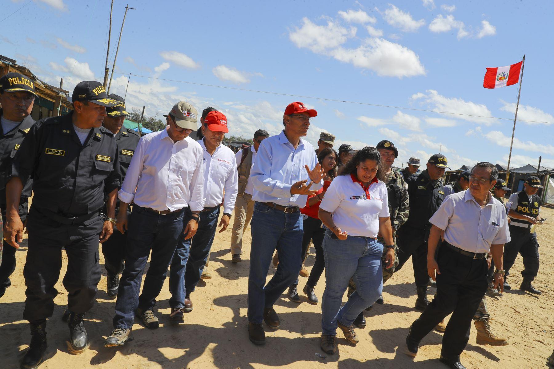 Vizcarra sobre La Pampa: Vamos a recuperar nuestra Amazonía