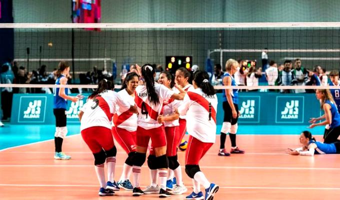 Selección peruana de vóley ganó medalla de oro en Olimpiadas Especiales 2019