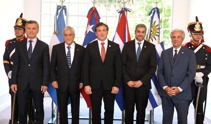 Argentina, Paraguay, Uruguay y Chile presentan candidatura para organizar el Mundial 2030