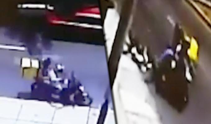 Delincuentes se hacen pasar como repartidores para robar