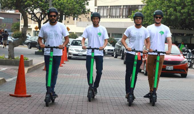 Miraflores: incautan más de 100 scooters por obstaculizar el libre tránsito