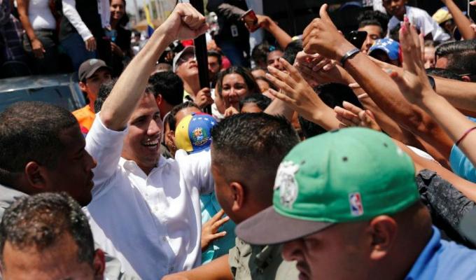 Juan Guaidó afirma que el único terror en Venezuela es el hambre
