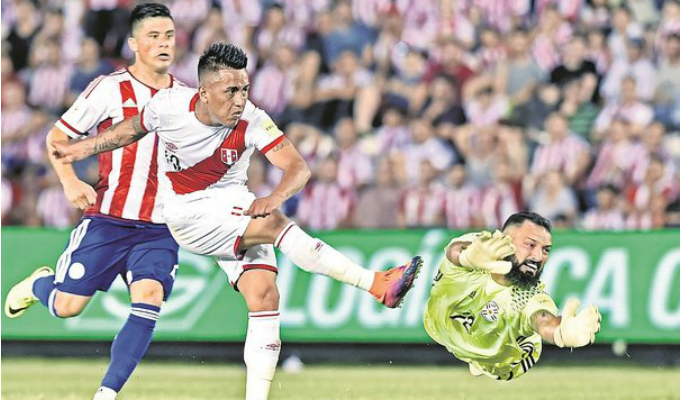 Perú venció 1-0 a Paraguay en Nueva Jersey