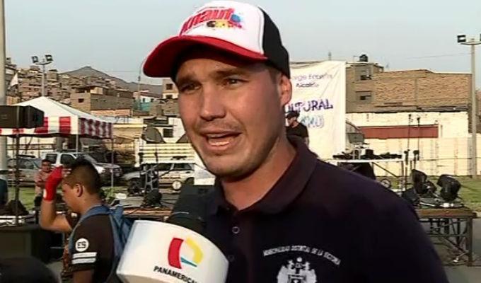 Forsyth respondió a críticas del alcalde Paz de la Barra