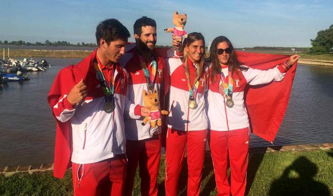 Perú ganó 13 medallas de oro en Sudamericanos de Playa en Argentina