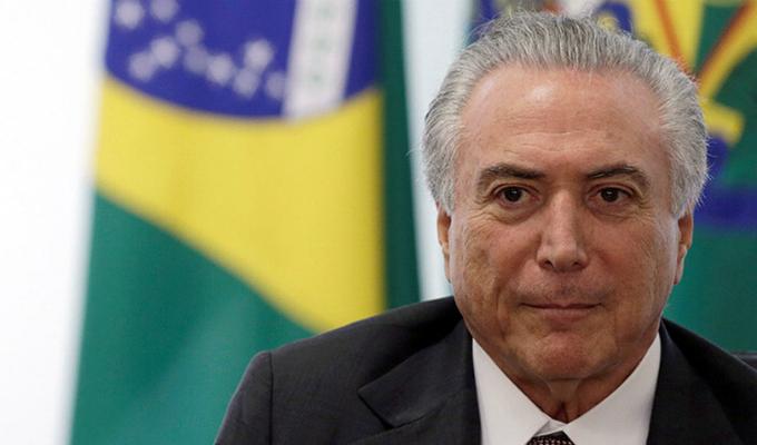 Brasil: expresidente Michel Temer quedó en libertad provisional
