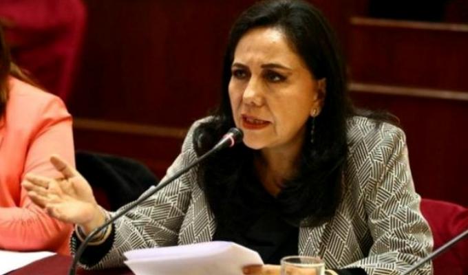 Ministra Montenegro reafirma su compromiso en la lucha contra la violencia hacia la mujer
