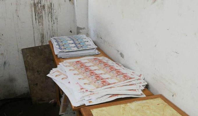 Presentan 26 millones de soles falsos incautados en vivienda de VES