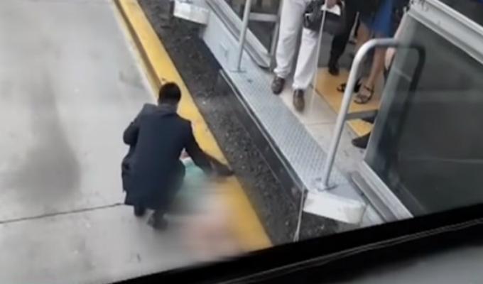 San Isidro: mujer cae a las vías del Metropolitano en estación Canaval y Moreyra