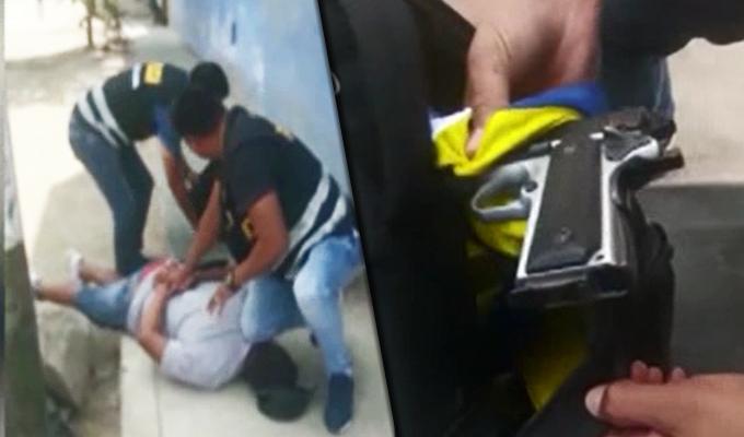 Los Olivos: capturan a dos sujetos que intentaban asaltar entidad bancaria