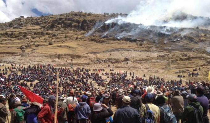 Congresistas cuestionan labor del Ejecutivo en el conflicto de Las Bambas