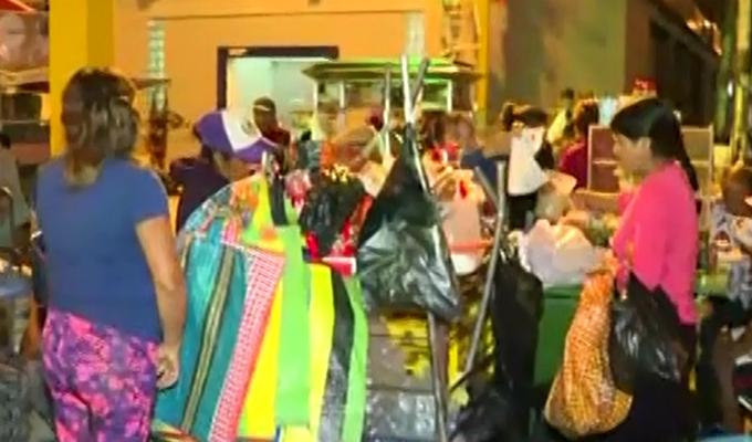 San Luis: realizan operativo contra comercio ambulatorio en Mercado de Frutas