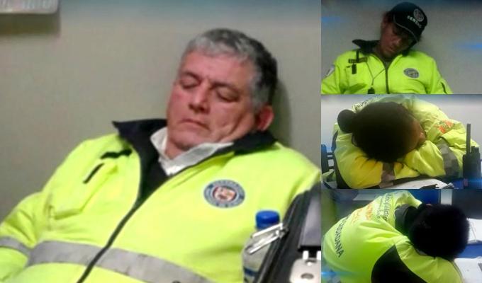 Surco: serenos son captados durmiendo en caseta de seguridad ciudadana