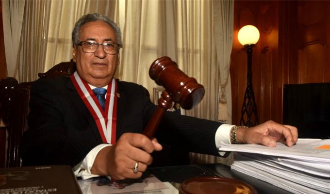 Titular del Poder Judicial exige mano dura contra la corrupción