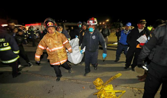 Guatemala: atropello masivo deja 18 fallecidos