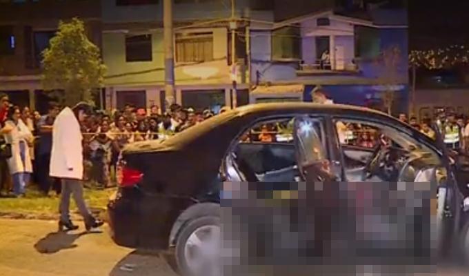 SJL: balacera deja un muerto y tres heridos en presunto ajuste de cuentas