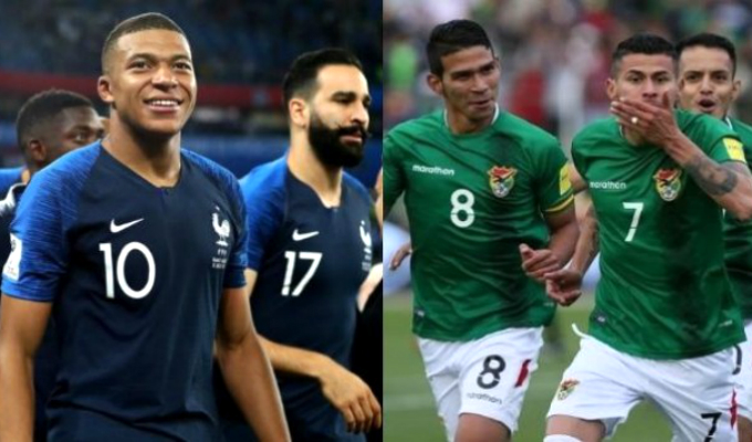 Bolivia jugará partido amistoso con Francia antes de la Copa América