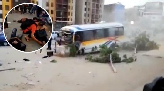 Los Olivos: cúster se despista y deja 15 heridos