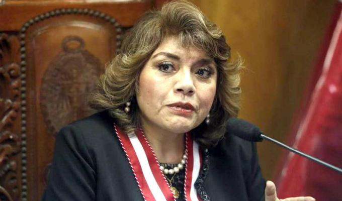 Juramentó Zoraida Ávalos como nueva fiscal de la Nación