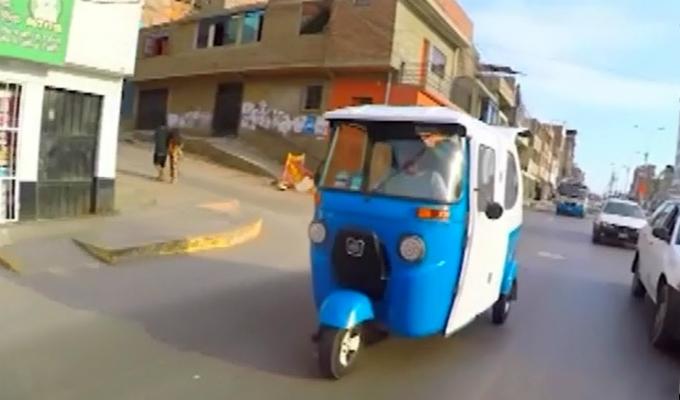 VES: roban mototaxi en segundos y vecinos se quejan ante creciente inseguridad