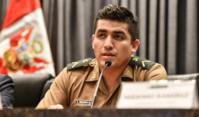 Elvis Miranda: confirman hábeas corpus para suboficial y continuará en libertad