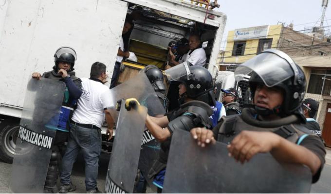 San Luis: erradican a ambulantes de inmediaciones de la Videna
