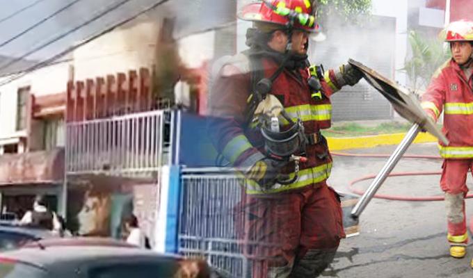 Miraflores: se registra incendio en inmueble de la avenida República de Panamá