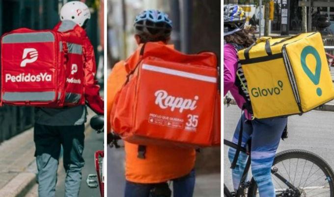 Argentina: prohíben que Rappi, Glovo y Pedidos Ya operen en Buenos Aires