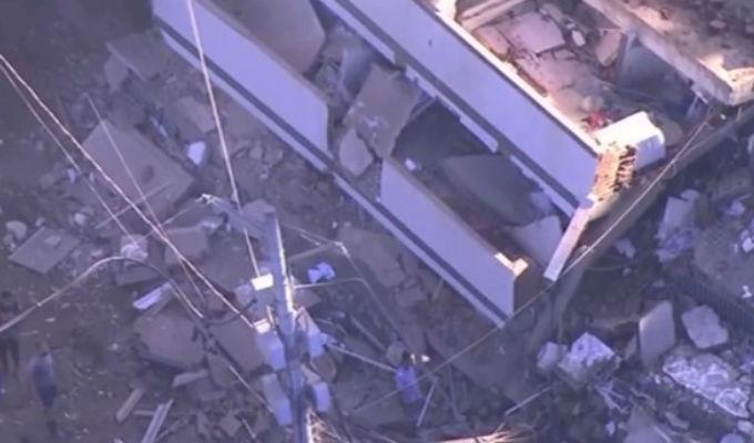 Brasil: al menos dos muertos tras derrumbe de edificios en Río