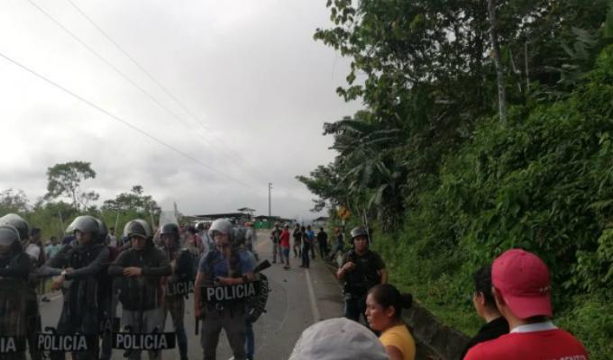 Puno: dos muertos deja enfrentamiento por instalación de base Corah