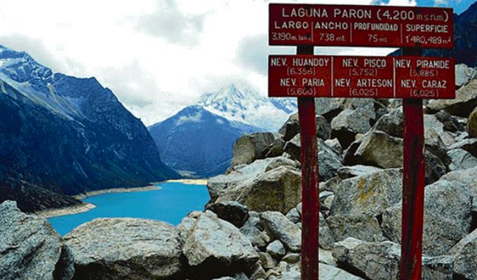 Laguna Parón: suspenden visitas tras ser declarada en emergencia