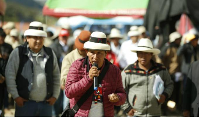 Las Bambas: Rojas pide presencia del Poder Judicial en reunión del 24 de abril
