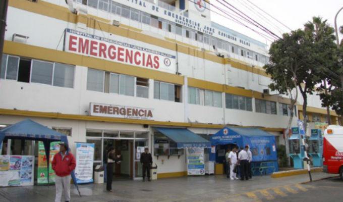 Alan García fue trasladado al hospital Casimiro Ulloa