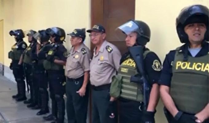 Alan García: diligencias en casa del exmandatario se habrían suspendido