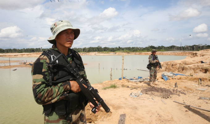 Minería ilegal: declaran en emergencia a dos distritos de Madre de Dios
