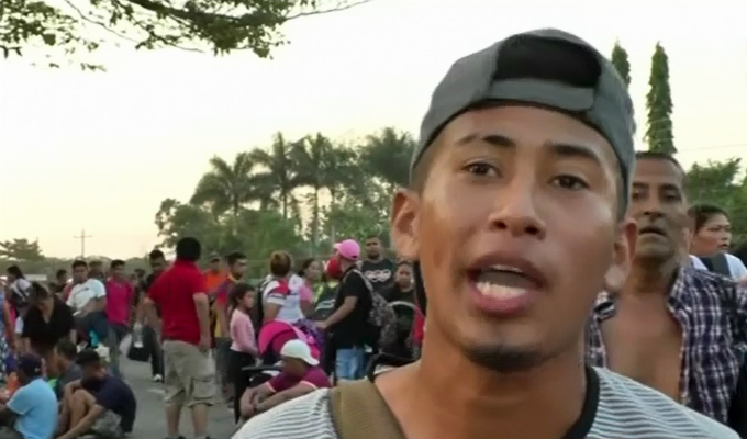 México: nueva caravana de migrantes se dirige rumbo a Estados Unidos