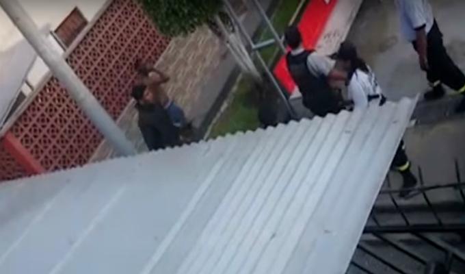 San Luis: serenos son agredidos por sujetos que bebían licor en parque