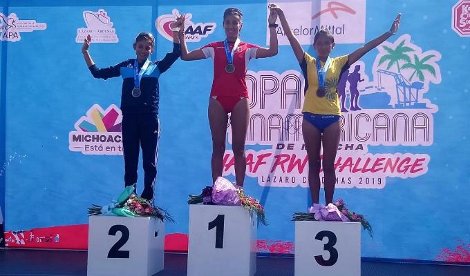 Kimberly García: peruana clasificó en marcha a los Juegos Olímpicos Tokio 2020