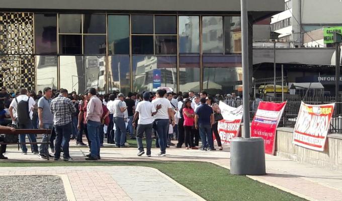 Trabajadores de Reniec acatan paro nacional de 24 horas