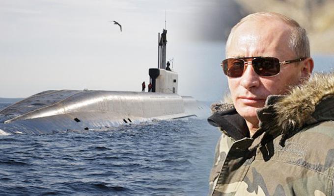 Rusia presenta submarino con drones subacuáticos que pueden causar tsunamis