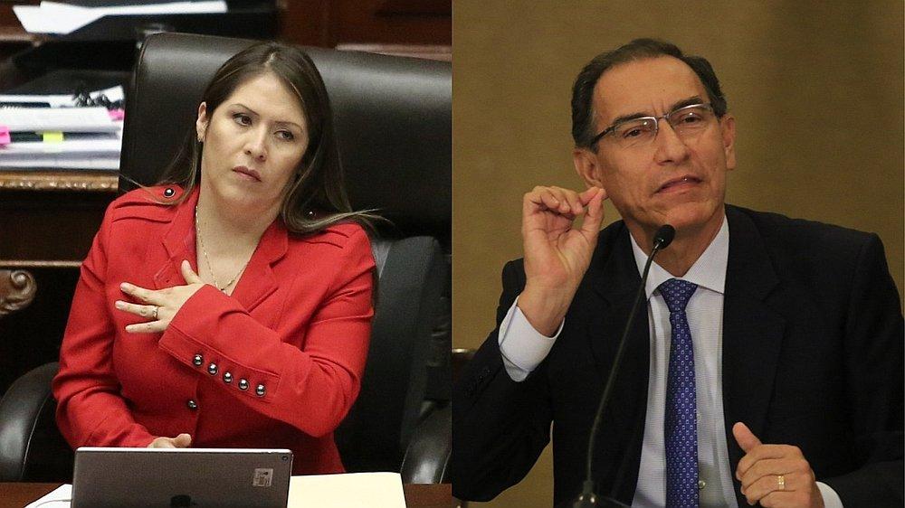 Yeni Vilcatoma confirma que su despacho prepara moción de vacancia contra Vizcarra