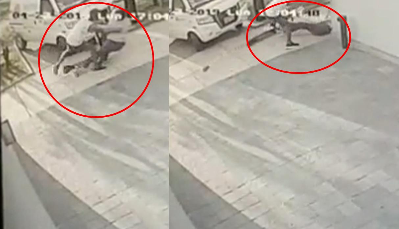 Barranco: hombre fue impactado violentamente por joven en scooter