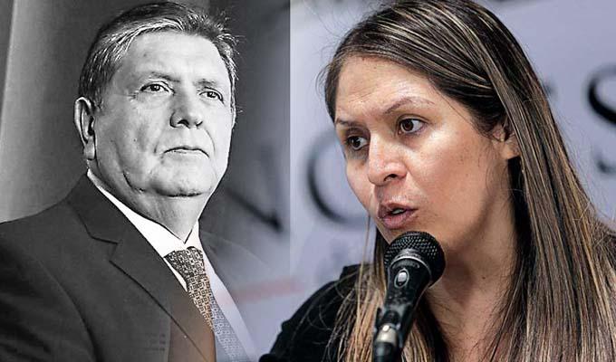 Yeni Vilcatoma pide formar comisión investigadora por muerte de Alan García