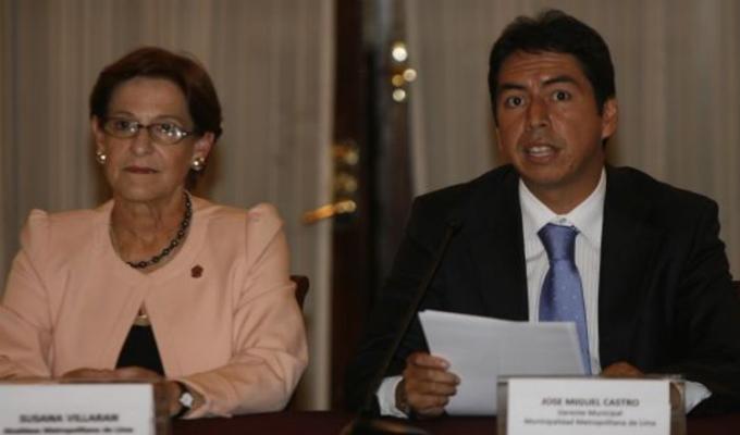 Barata sobre campaña de Villarán: José Miguel Castro pidió US$ 3 millones en reunión en MML