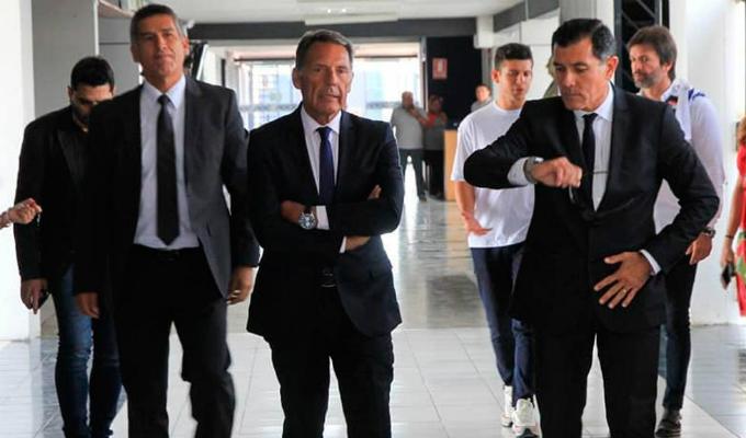 IMÁGENES EXCLUSIVAS | Alianza Lima: última conversación entre Russo y Zevallos