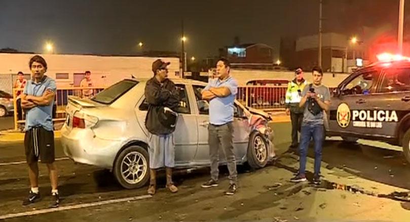 San Luis: accidente de tránsito dejó cuatro menores  heridos