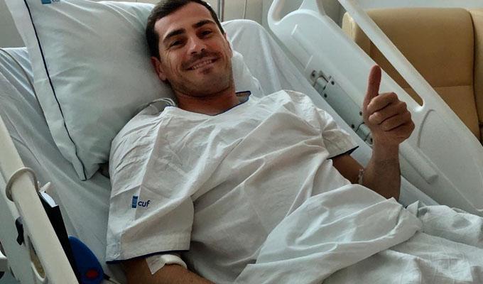 Iker Casillas: se encuentra fuera de peligro tras sufrir infarto