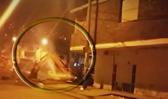 Villa María del Triunfo: fuga de gas causa alarma en vecinos de la avenida Pachacútec